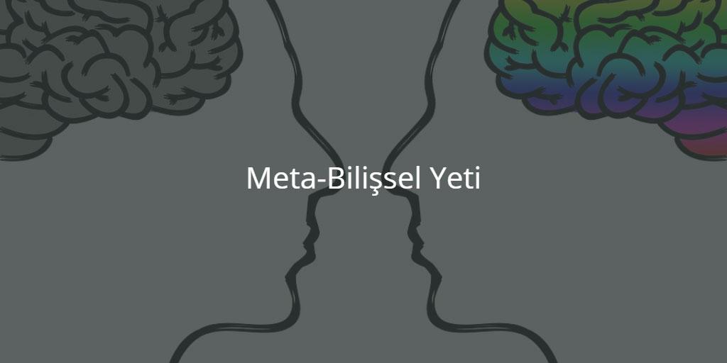 Meta-Bilişsel Yeti